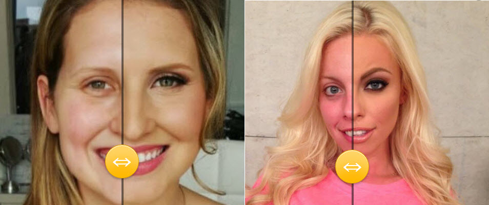 Šminka primeri pre i posle – Plavuše