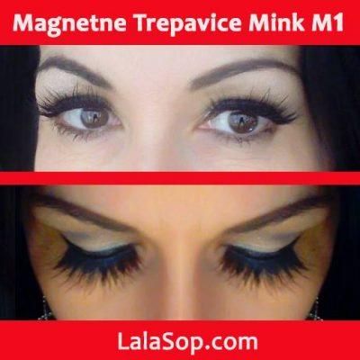 M1 mink magnetne trepavice Jasmina