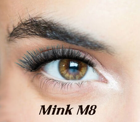 M8 mink magnetne trepavice